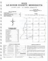 Index Map, LeSueur County 1976
